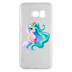 Чохол для Samsung S6 EDGE Принцеса Селеста - FatLine
