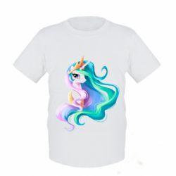 Детская футболка Принцесса Селестия