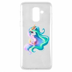 Купить My Little Pony, Чехол для Samsung A6+ 2018 Принцесса Селестия, FatLine