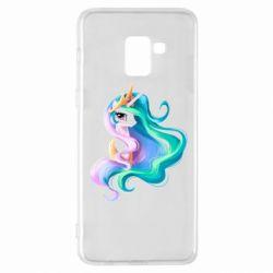 Чохол для Samsung A8+ 2018 Принцеса Селеста - FatLine