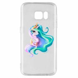Чохол для Samsung S7 Принцеса Селеста - FatLine