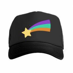 Кепка-тракер Print Mabel star and rainbow