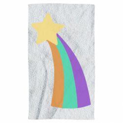 Рушник Print Mabel star and rainbow