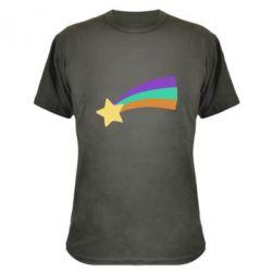 Камуфляжна футболка Print Mabel star and rainbow