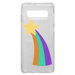 Чохол для Samsung S10+ Print Mabel star and rainbow