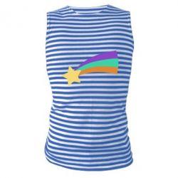 Майка-тільняшка Print Mabel star and rainbow