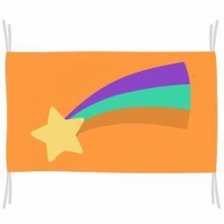 Прапор Print Mabel star and rainbow
