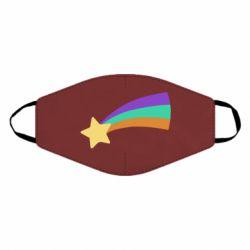 Маска для обличчя Print Mabel star and rainbow