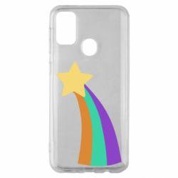 Чохол для Samsung M30s Print Mabel star and rainbow
