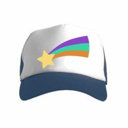 Дитяча кепка-тракер Print Mabel star and rainbow