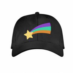 Дитяча кепка Print Mabel star and rainbow