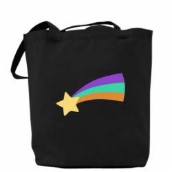 Сумка Print Mabel star and rainbow