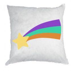 Подушка Print Mabel star and rainbow
