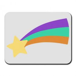 Килимок для миші Print Mabel star and rainbow