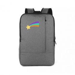 Рюкзак для ноутбука Print Mabel star and rainbow