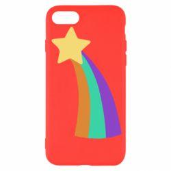 Чохол для iPhone 7 Print Mabel star and rainbow