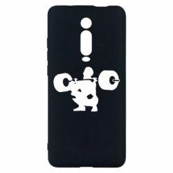 Чехол для Xiaomi Mi9T Приседания со штангой