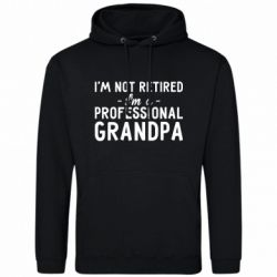 Мужская толстовка Professional Grandpa