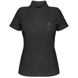 Жіноча футболка поло Професійний кілер Леон