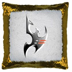 Подушка-хамелеон Protoss Symbol
