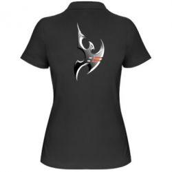 Купить Женская футболка поло Protoss Symbol, FatLine