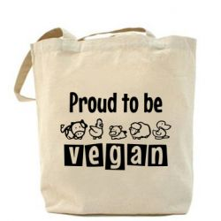Сумка Proud to be Vegan
