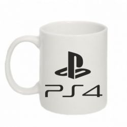 Кружка 320ml PS 4 Logo