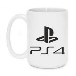 Кружка 420ml PS 4 Logo