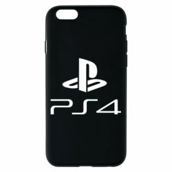 Чехол для iPhone 6/6S PS 4 Logo