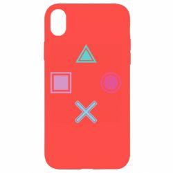 Чехол для iPhone XR PS vector
