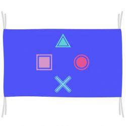 Флаг PS vector