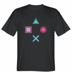 Мужская футболка PS vector