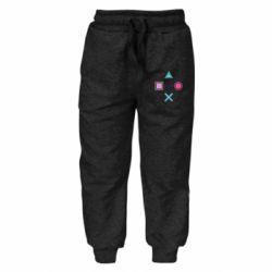Детские штаны PS vector