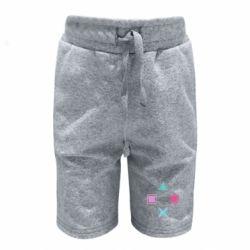 Детские шорты PS vector