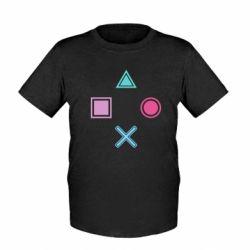 Детская футболка PS vector