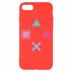Чехол для iPhone 8 PS vector