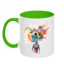 Кружка двухцветная Психоделика