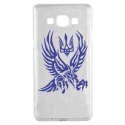 Чохол для Samsung A5 2015 Птах та герб