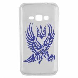 Чохол для Samsung J1 2016 Птах та герб