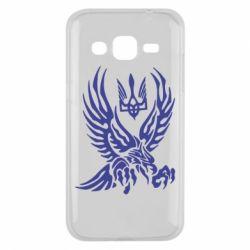 Чохол для Samsung J2 2015 Птах та герб