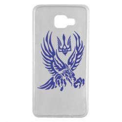 Чохол для Samsung A7 2016 Птах та герб