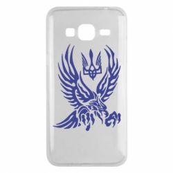 Чохол для Samsung J3 2016 Птах та герб