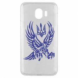 Чохол для Samsung J4 Птах та герб