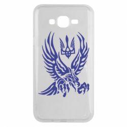 Чохол для Samsung J7 2015 Птах та герб
