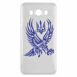 Чохол для Samsung J7 2016 Птах та герб