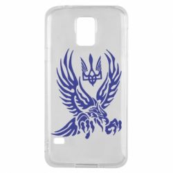 Чохол для Samsung S5 Птах та герб