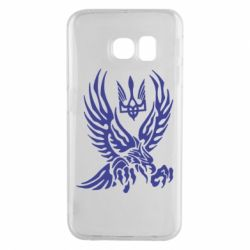 Чохол для Samsung S6 EDGE Птах та герб