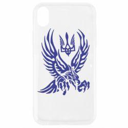 Чохол для iPhone XR Птах та герб