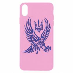 Чохол для iPhone Xs Max Птах та герб