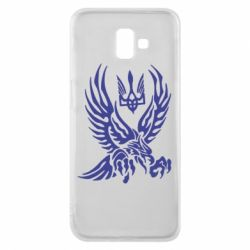 Чохол для Samsung J6 Plus 2018 Птах та герб